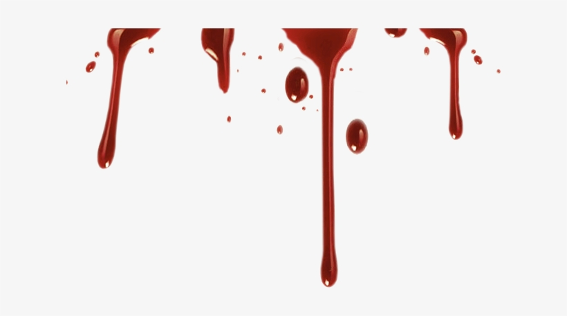 Realistic Blood Drip Png Vector Stock - Realistic Blood Dripping Png, transparent png #38950