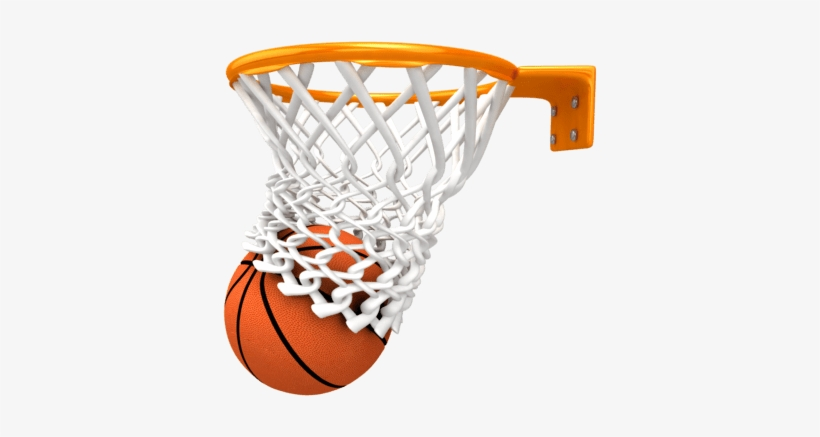 Basketball Ring Score - Basketball Png, transparent png #39076
