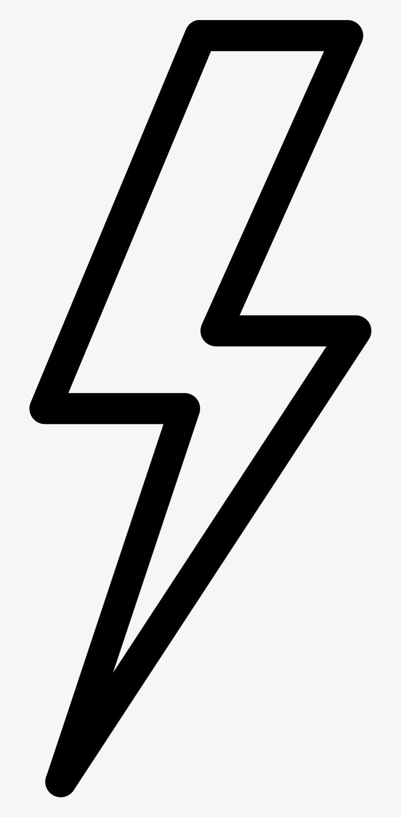 Lightning Bolt Png Graphic Freeuse Download - Lightning Bolt With Transparent Background, transparent png #39078