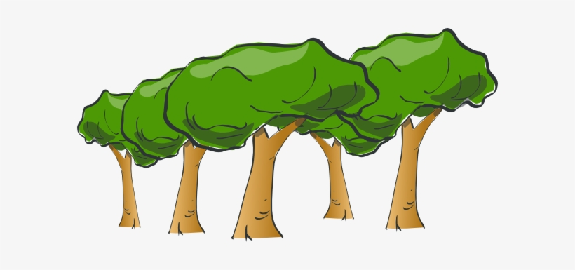 Freeuse Download Forest Clipart Png - Tree Clip Art, transparent png #39103