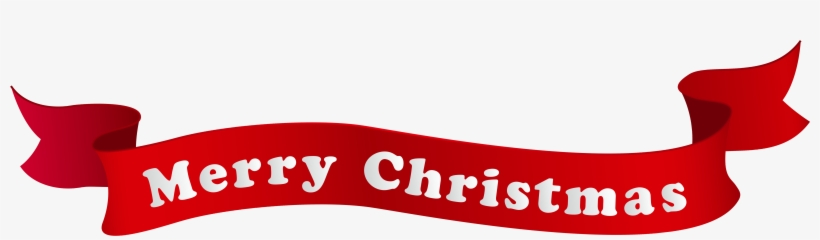 Merry Christmas Clip Art Banner Merry Christmas And - Merry Christmas No Background, transparent png #39917