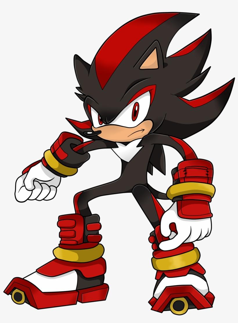 Jpg Download Drawing Shadow Hedgehog - Shadow The Hedgehog En Sonic Boom, transparent png #300600