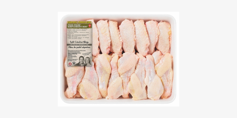 Pc Free From Chicken Air-chilled Split Chicken Wings - Split Chicken Wings, transparent png #301594