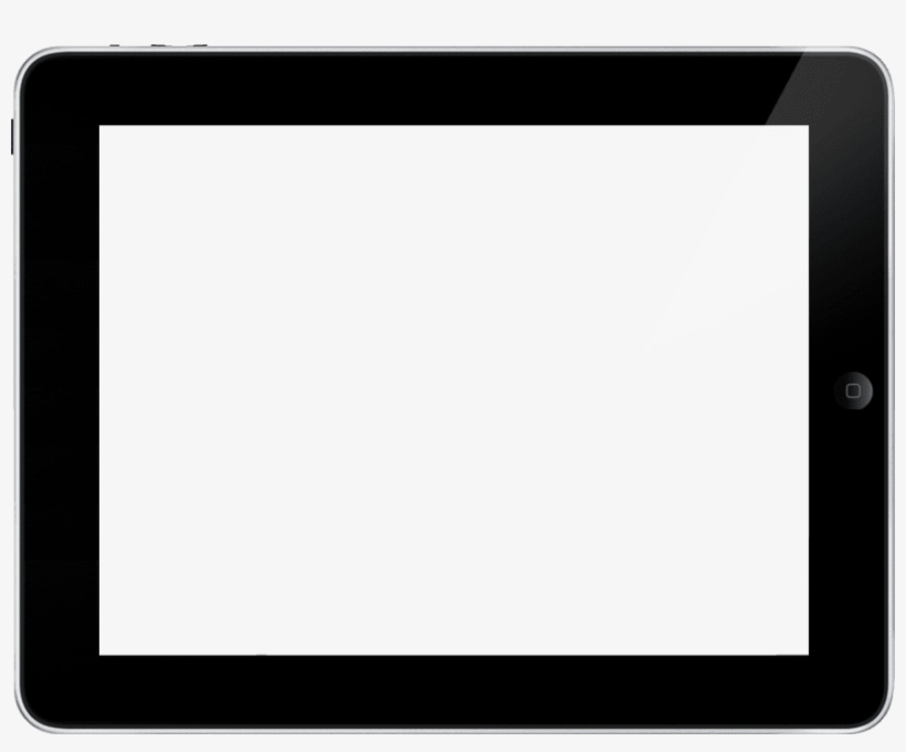 Ipad Clipart Png Landscape - Mobile Frame For Youtube, transparent png #302083