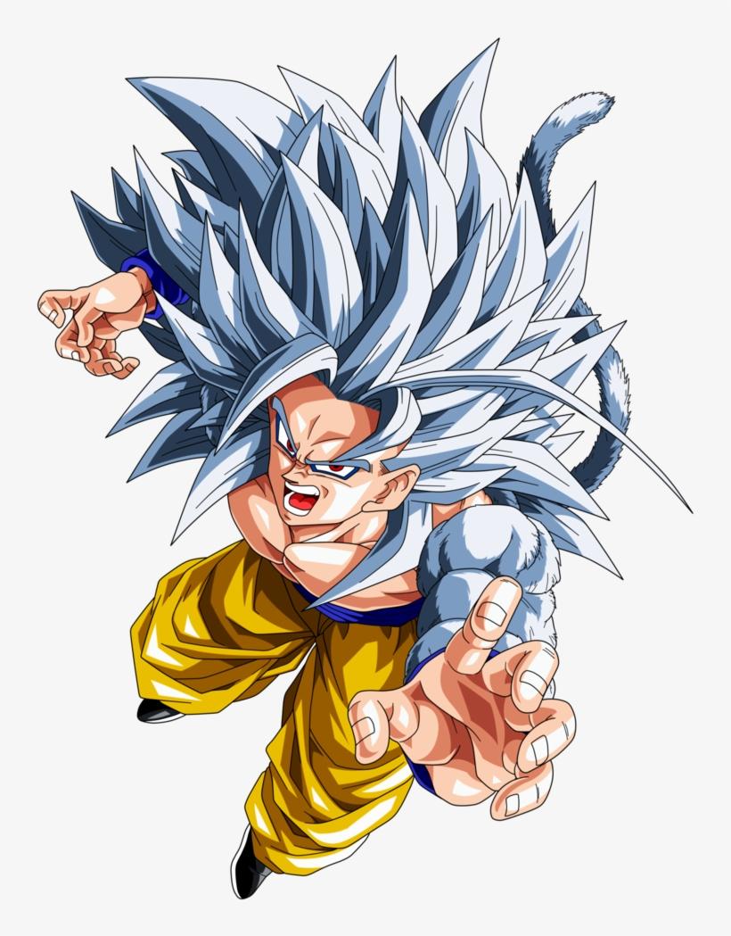 Dragon Ball Z Goku Super Saiyan 5 - Goku Super Saiyan 5, transparent png #302668