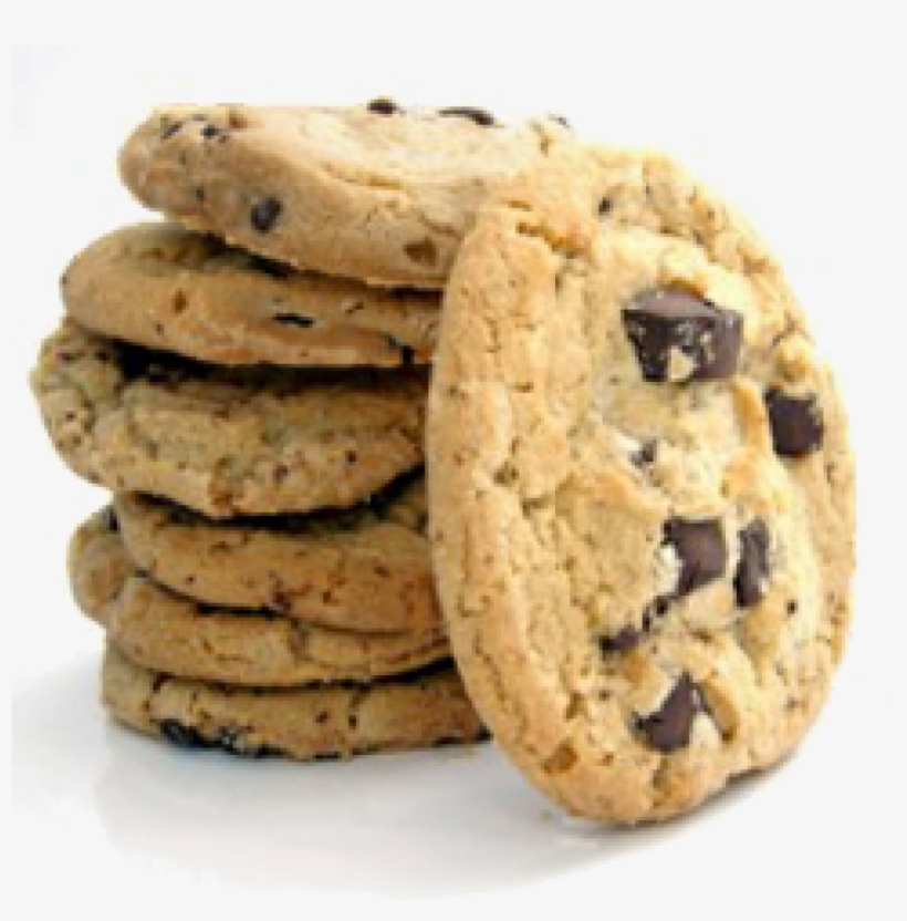 Dipping Items Cookies Fountain - Chocolate Chip Cookies Png, transparent png #302991