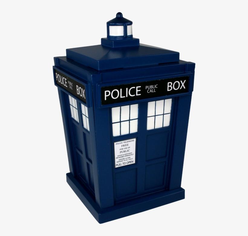 Tardis Titans - Doctor Who Titans Tardis 6 1/2-inch Vinyl Figure, transparent png #303120