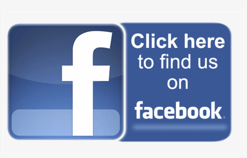 Find Us On Facebook - Facebook Click Here Button, transparent png #304007