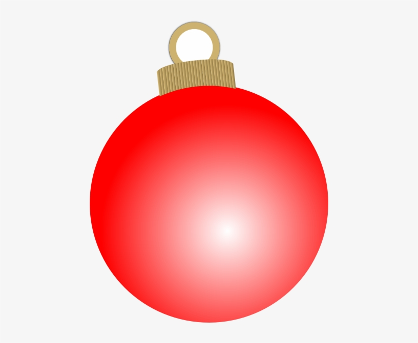 Holidays Clipart Balls - Red Christmas Ornament Clipart, transparent png #304281