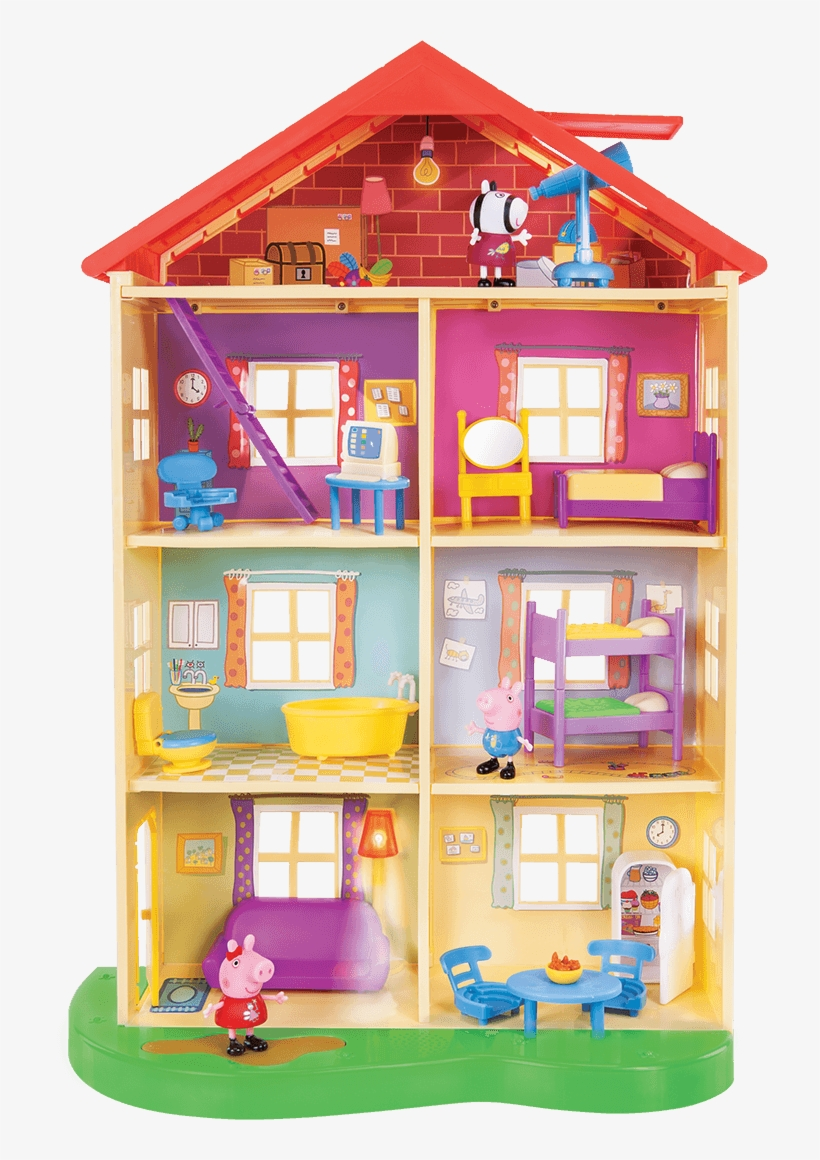 My Kids Just Love Peppa Pig, Especially My 3 Year Old - Peppa Pig Lights And Sounds Family Home, transparent png #304856