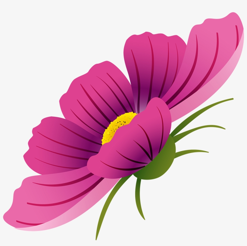 Svg Royalty Free Download Flower Watercolor Painting - Watercolour Of Cosmos Flowers Transparent, transparent png #304992