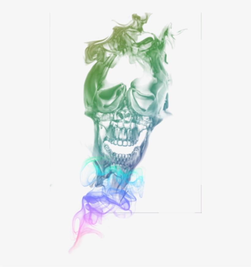 Rainbow Smoke Png » Png Image - Cb Edit Smoking Png - Free
