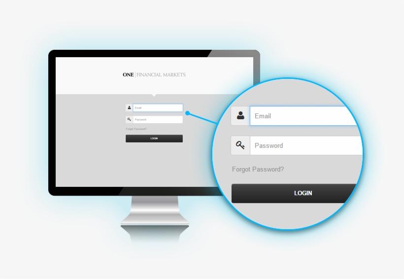 Client Portal Login Screen - Client Portal, transparent png #305705