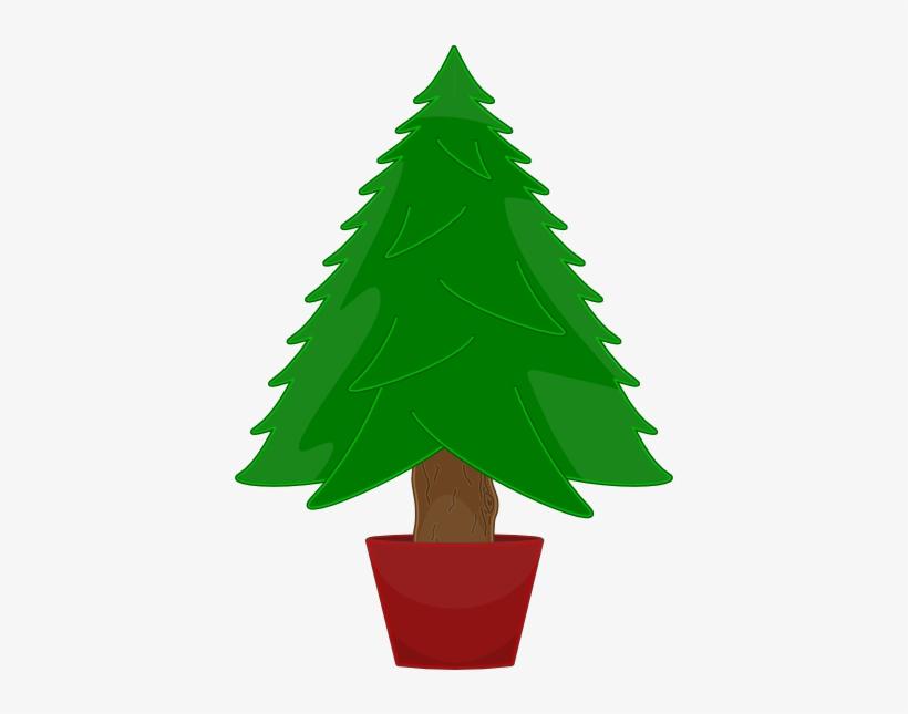 Christmas Tree Vector - Arvore De Natal Verde, transparent png #306034