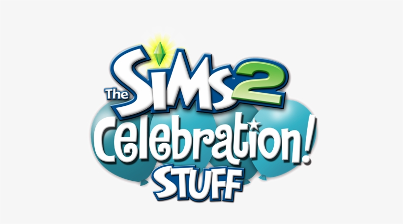 The Sims 2 Celebration Stuff Logo - Sims 2 - Celebration Stuff Pack, transparent png #306475