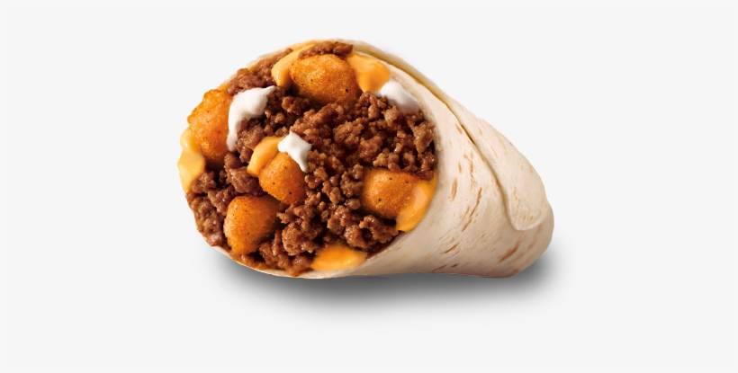 Pdp 1 2 Cheesy Potato - Extra Big Burrito Taco Bell, transparent png #307562