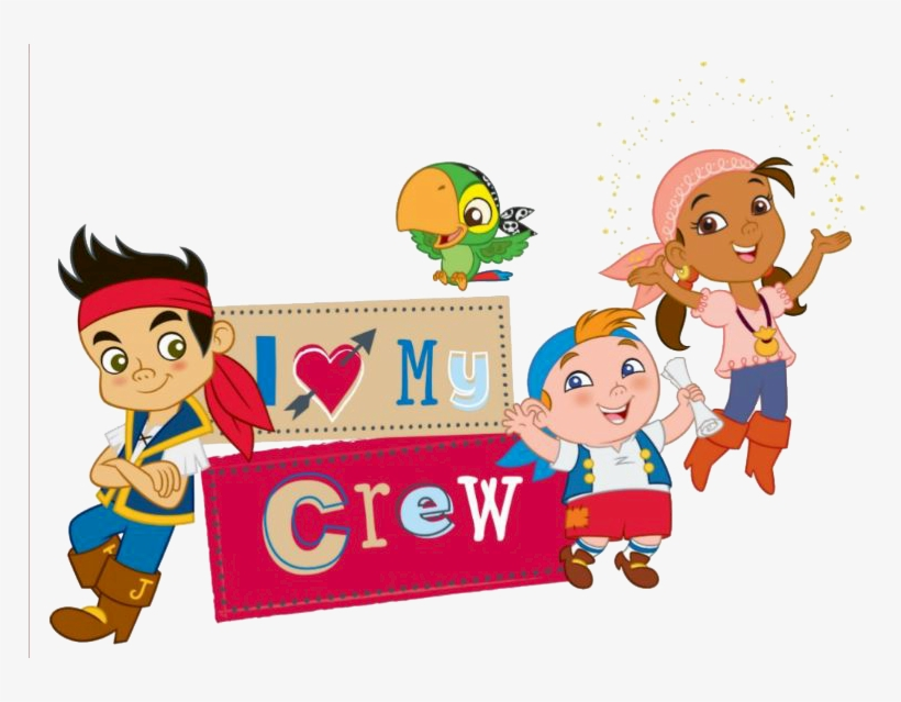 Pirate Clipart Pirate Crew Jake And The Neverland Pirates Characters Clipart Free Transparent Png Download Pngkey