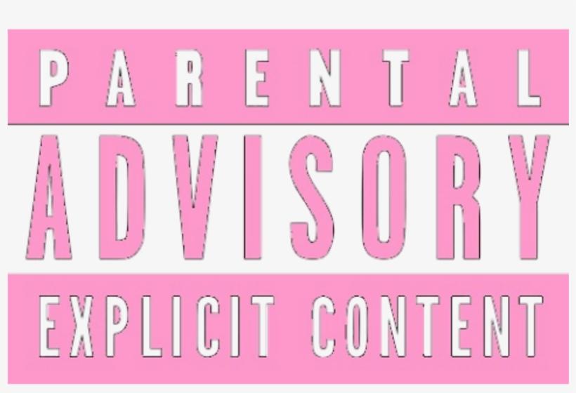 Parental advisory body. Parentaladvisory explicitcontent tag censured