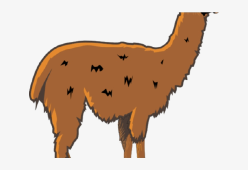 Llama Clipart Animated - Llama Clipart, transparent png #308053