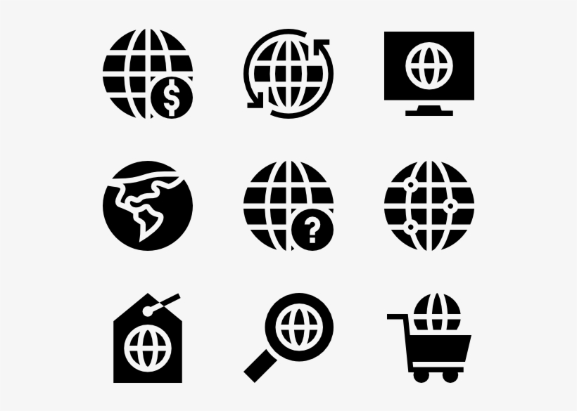 Globe - Icon - Free Transparent PNG Download - PNGkey