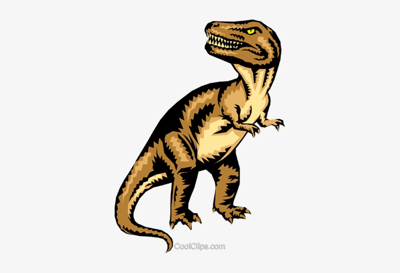 Silhouette T Rex Clipart, HD Png Download - kindpng