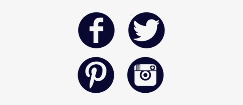 Redes Sociales Icon Png - Facebook Twitter Instagram Youtube Logo, transparent png #3001735