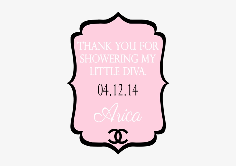 It's A Coco Baby Shower - Pink And Black Chanel Baby Shower Invitations, transparent png #3002243