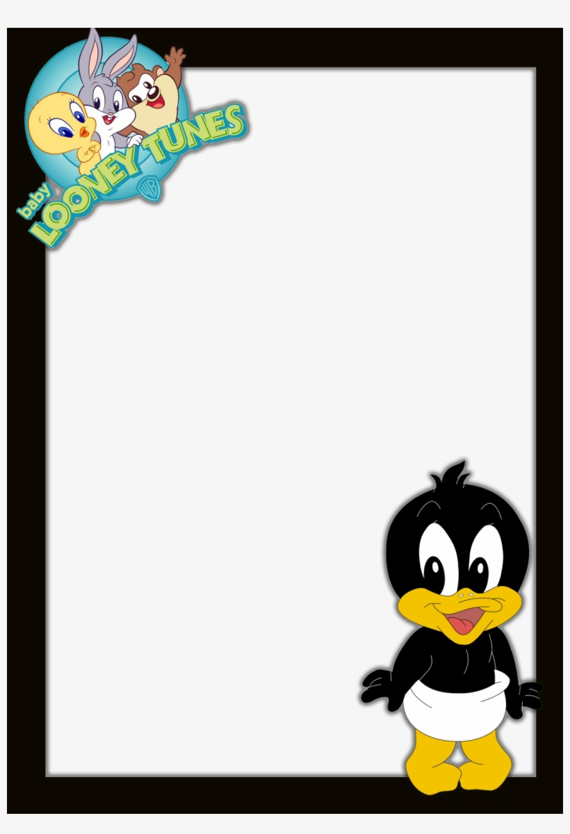 Frames Png Looney Tunes Imagens Para Photoshop - Baby Looney Tunes, transparent png #3003562