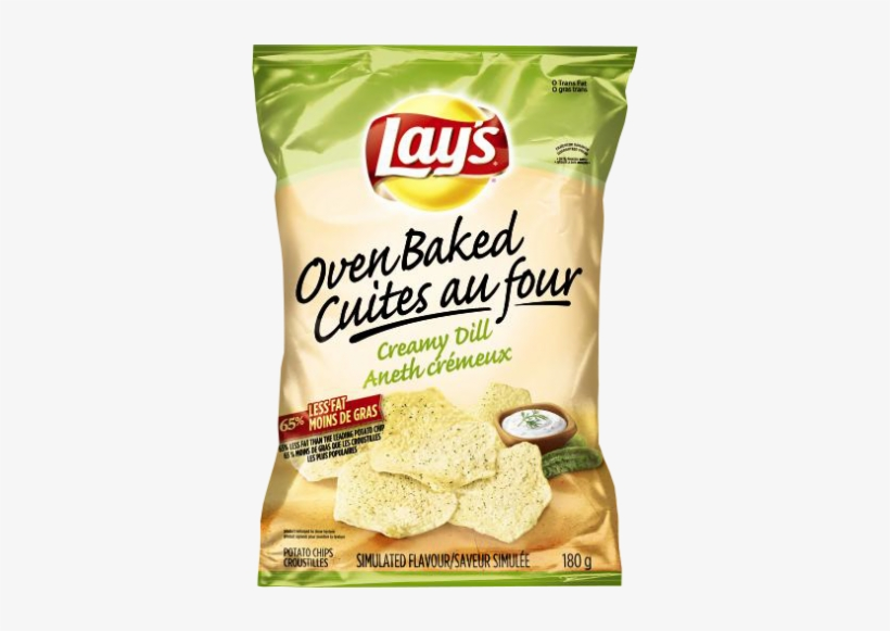 Lay's Bar-b-q Oven Baked Potato Chips, transparent png #3006500