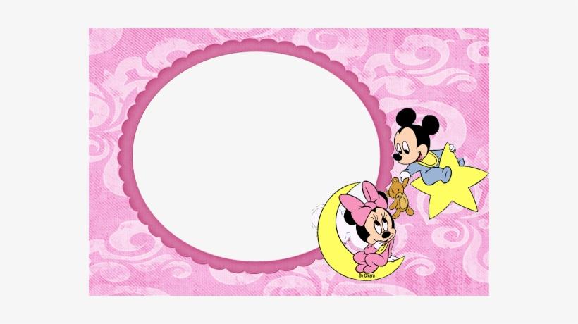 Molduras, Máscaras, Frames - Moldura Da Minnie Baby Png, transparent png #3010144
