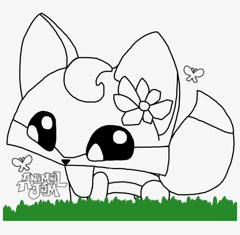 Chic Ideas Animal Jam Coloring Pages Pet Fox Icon By Wallpaper