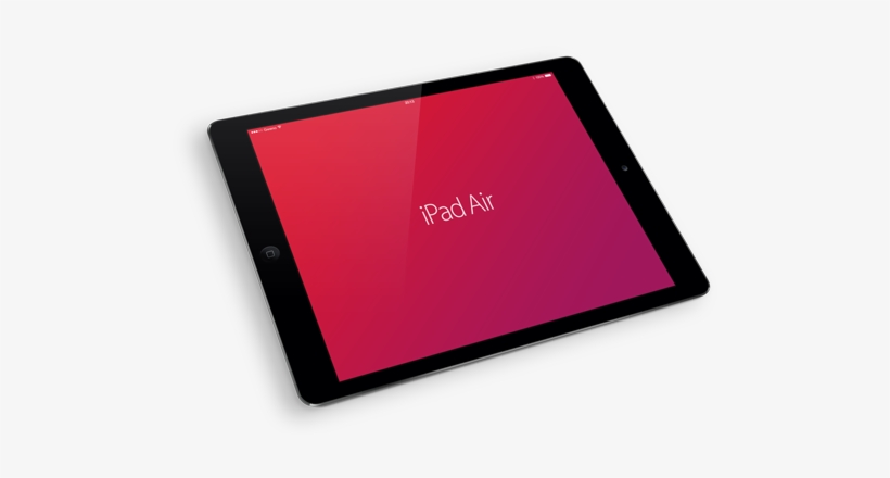 Ipad Air Mockup Black Photography Free Transparent Png