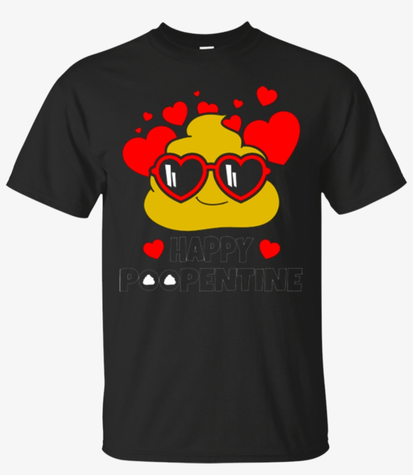 Happy Poopentine Poop Emoji Happy Valentines Day Shirt - Superman T