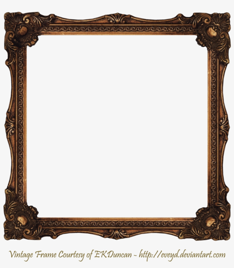 Elaborate Wood Scroll Frame 2 By Ekduncan By Eveyd - Book - Stories And Pictures (hardcover), transparent png #3014593