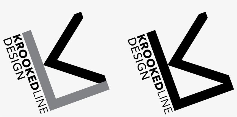 Branding For The Furniture Design Studio Krooked Line - Graphic Design, transparent png #3015545