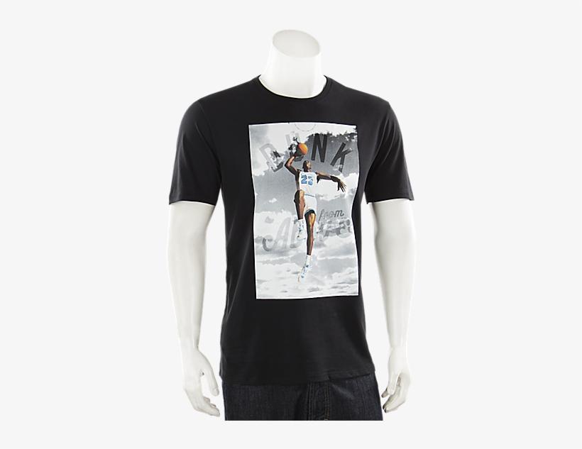 Jordan Dunk From Above T Shirt Black - Jordan Dunk From Above T-shirt Mens Style : 725006, transparent png #3016760