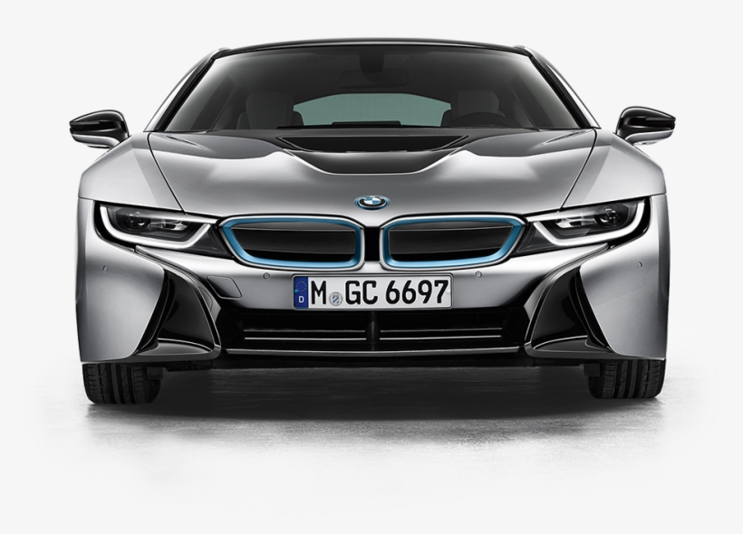 View Of A Bmw I8 Bmw Sport Car Front View Free Transparent Png