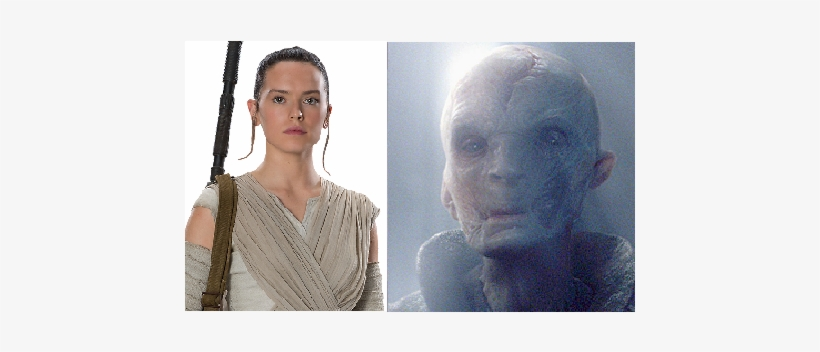 Snoke You Are The Father - Star Wars The Force Awakens Rey Life Size Cut Out, transparent png #3019582