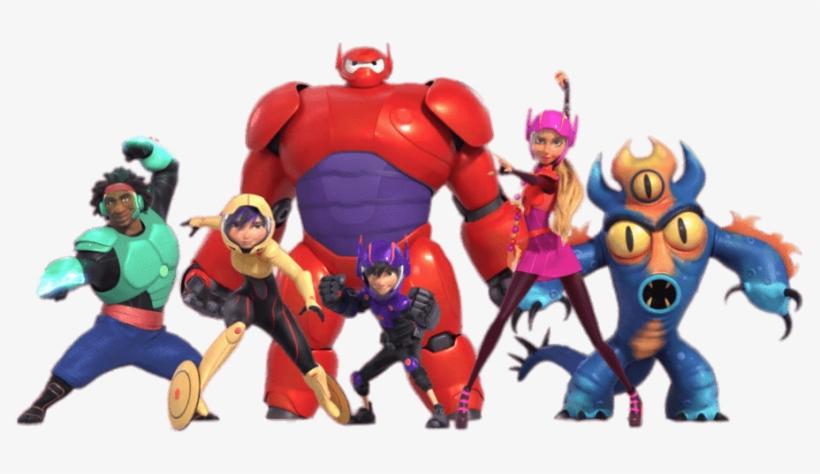 Big Hero 6 Characters In Full Armour - Big Hero 6 Disney Magic Kingdoms, transparent png #3021003
