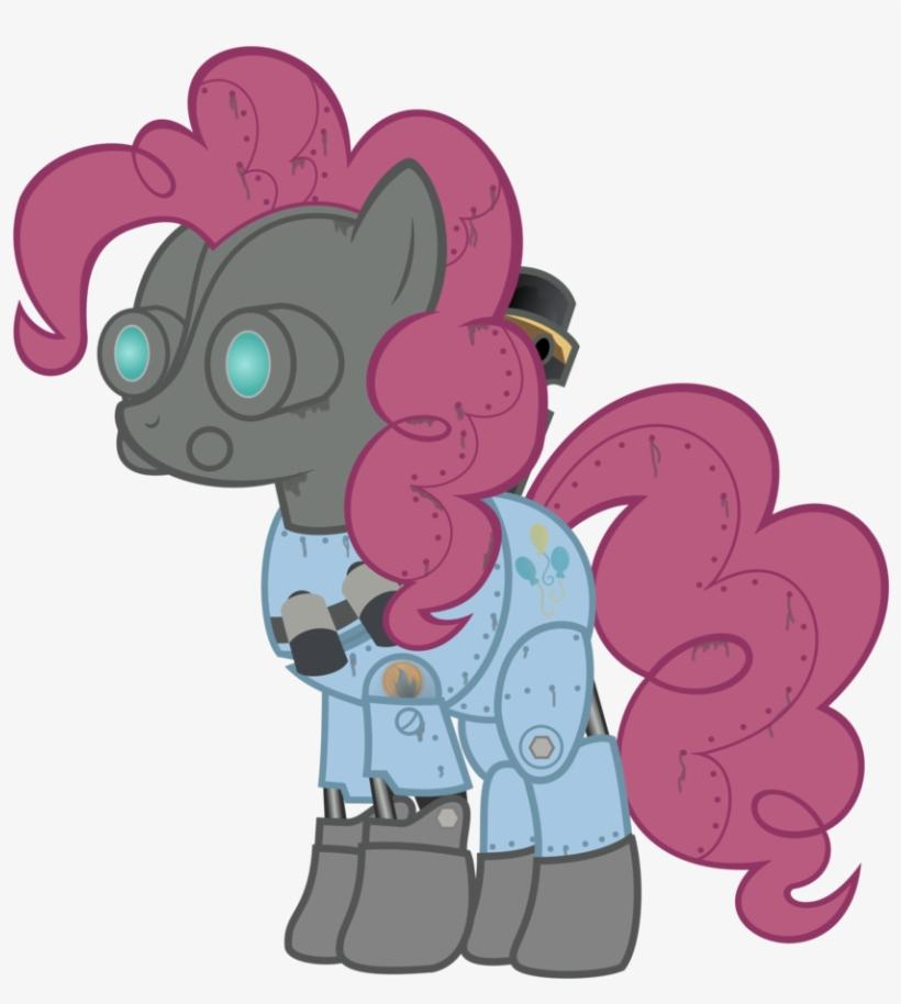 Avastindy, Mann Vs Machine, Mare Vs Machine, Pinkie - My Little Pony: Friendship Is Magic, transparent png #3021037