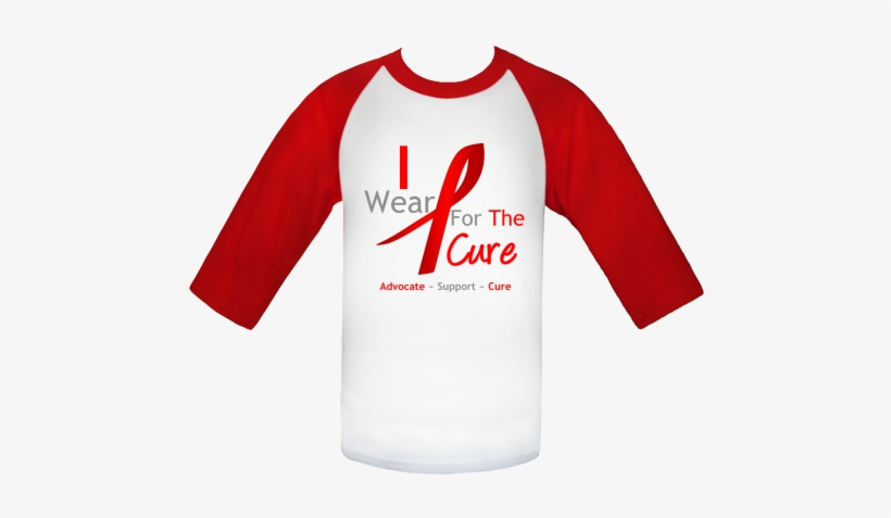 Show Your Support With I Wear A Red Ribbon For The - Boys Funny Christmas T Shirt Designs, transparent png #3022280