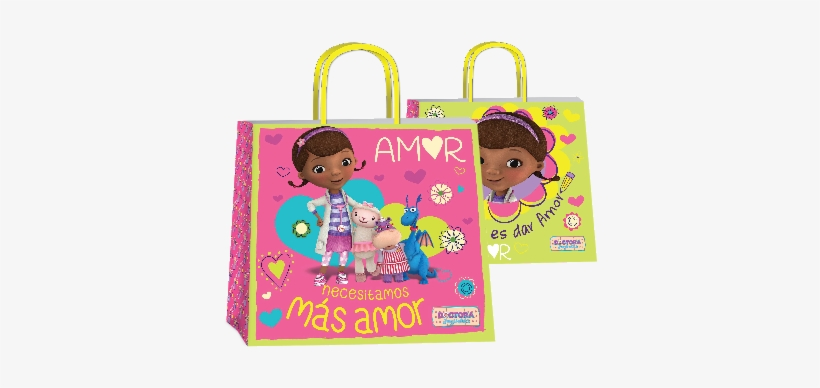 Bolsa P/regalo Romipack Dra Juguetes - Springs Creative Doc Mcstuffins Doc Is In Panel, transparent png #3022979