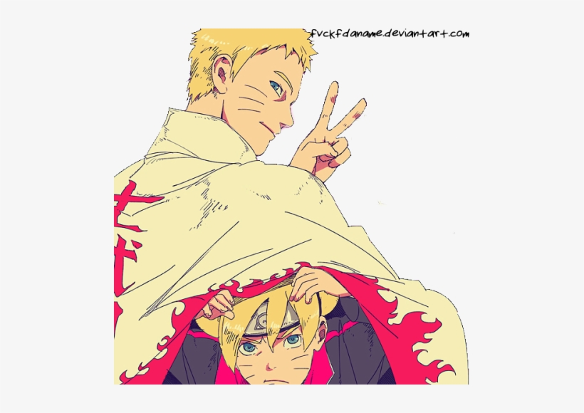 He's The Goat, You Can't Argue With It - Boruto And Naruto Uzumaki, transparent png #3023939