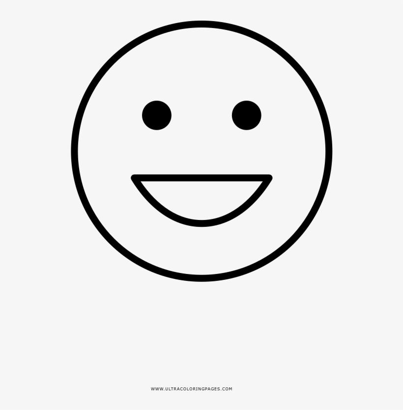 Cara Feliz Página Para Colorear D Emoji Para Colorear Free
