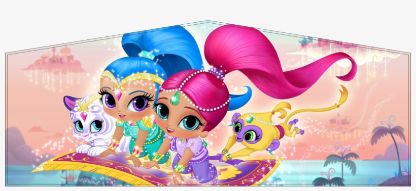 Home / Medium Jumping Castle Themes / Shimmer And Shine - Shine Genie Shimmer And Shine, transparent png #3025485