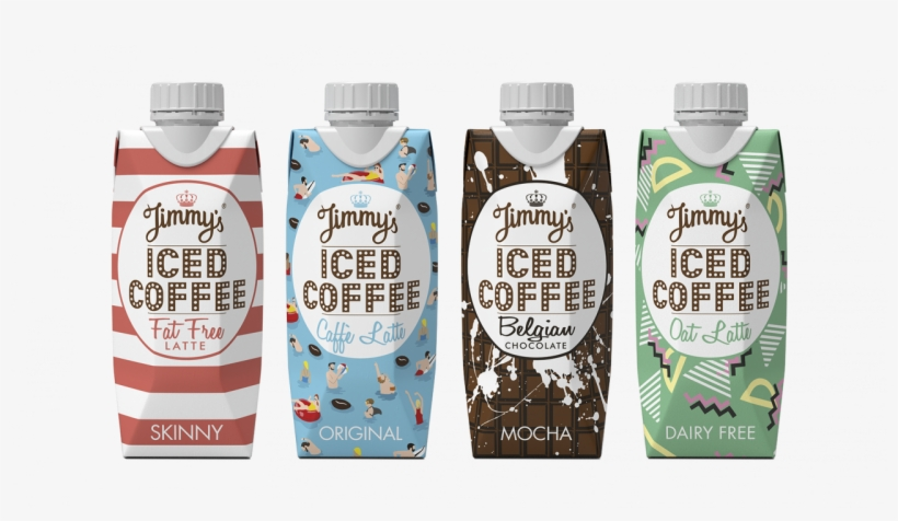 Chilled Beverage Brand Jimmy's Iced Coffee Has Unveiled - Jimmys 330 Ml Original Iced Coffee, transparent png #3026468