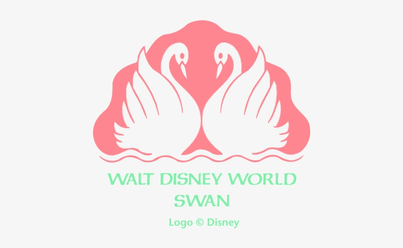 Walt,disney,world,swan - Swan And Dolphin Resort Logo, transparent png #3026636