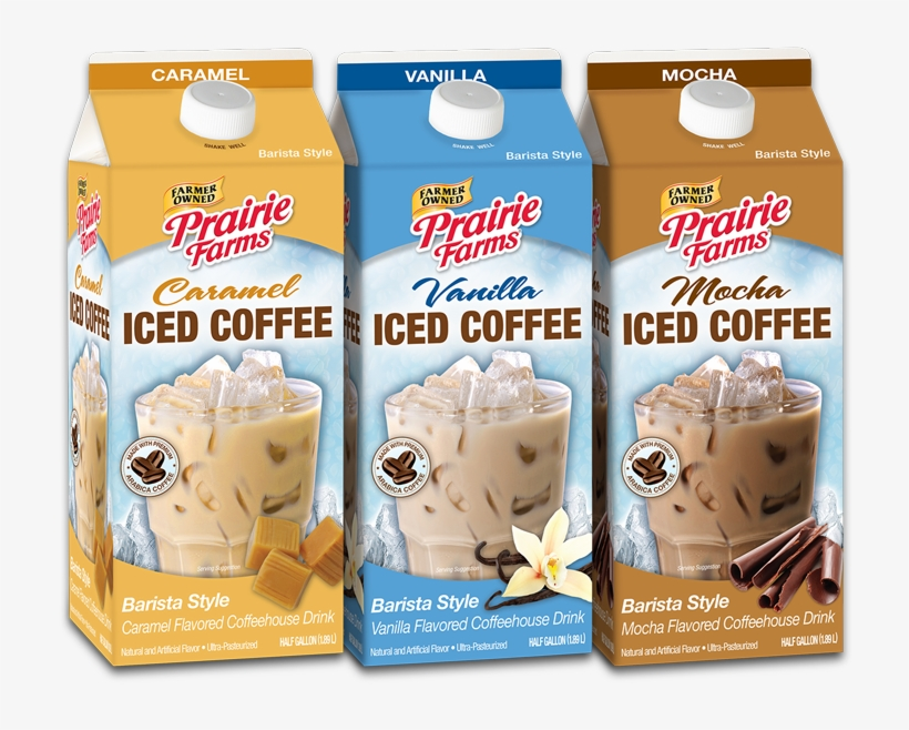 Iced Coffee - Prairie Farms Caramel Iced Coffee, transparent png #3026954