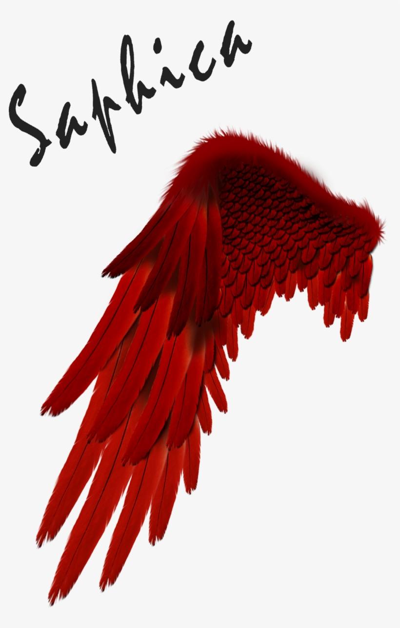 Free Download Devil Clipart Devil Angel Demon - Red Angel Wings Png, transparent png #3027663