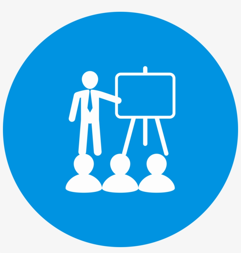 Workshops Icon - Logout Icon Png Blue - Free Transparent ...